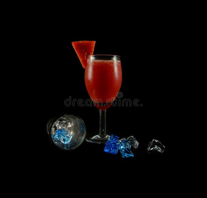 Bebida de la sandía foto de archivo libre de regalías