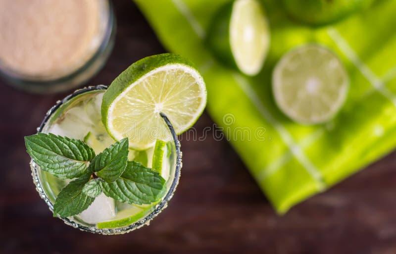 Bebida de Mojito foto de stock