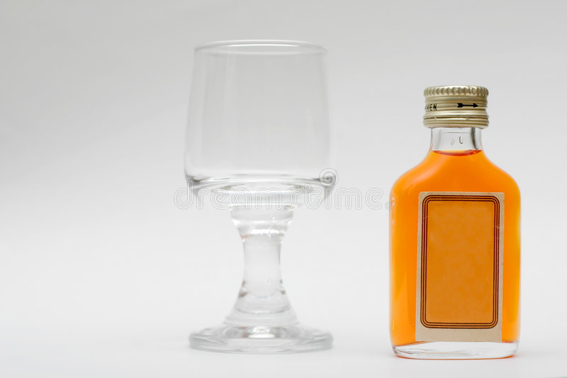 Bebida del alcohol imágenes de archivo libres de regalías