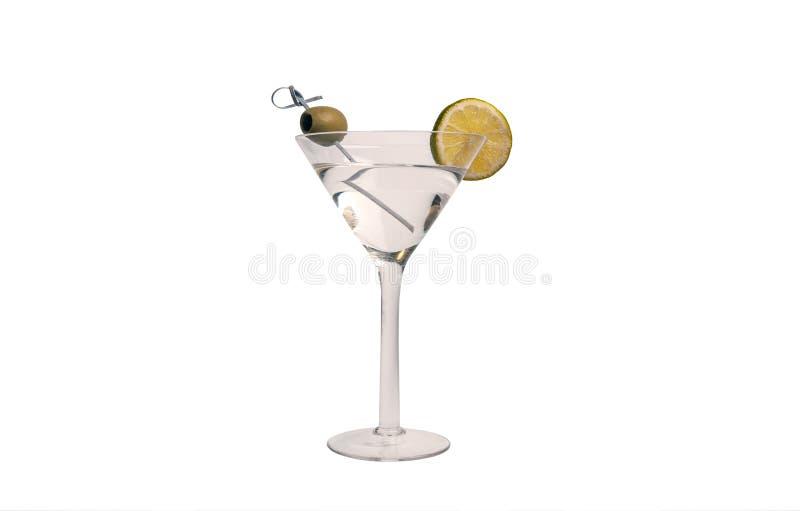 Bebida del cóctel de martini de vodka fotografía de archivo