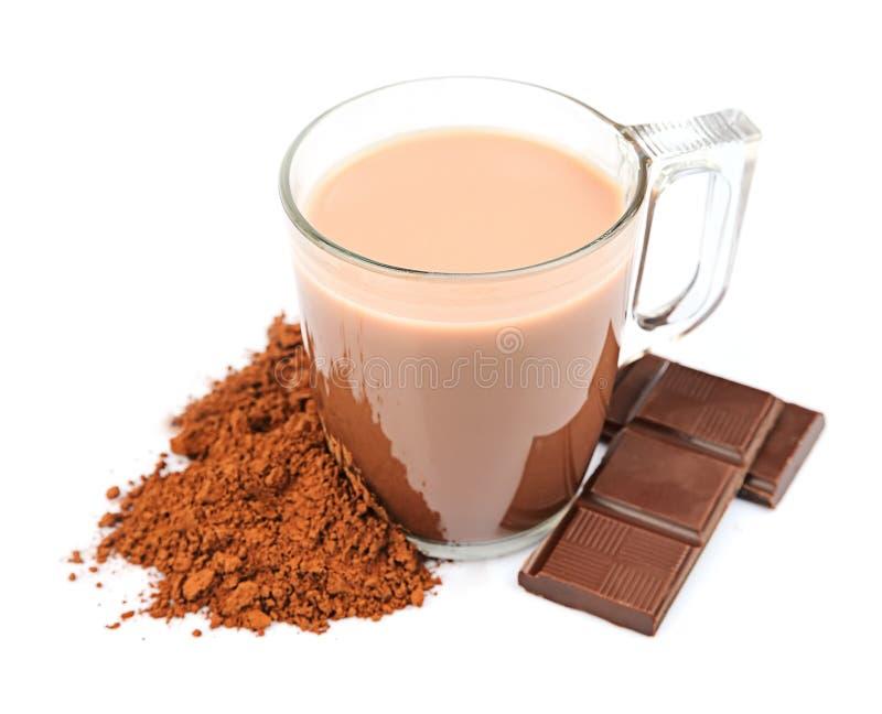 Bebida del cacao. imagen de archivo libre de regalías