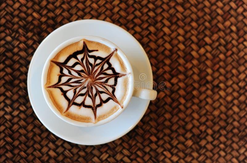 Bebida del café de la moca imagenes de archivo