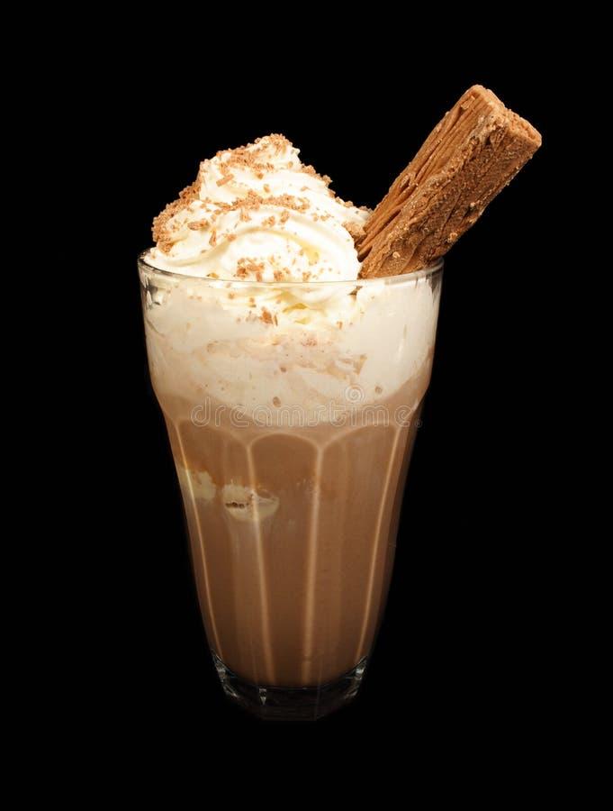 Bebida del chocolate imagenes de archivo