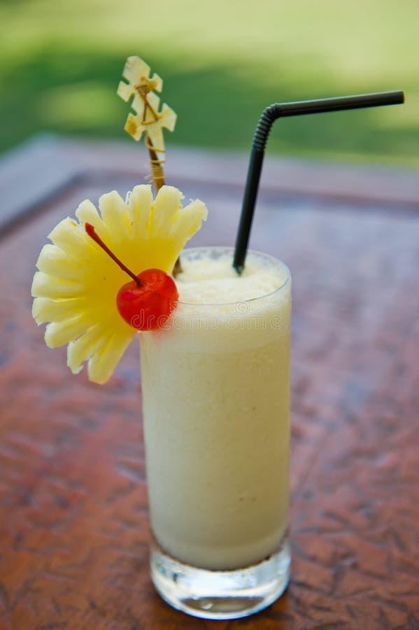 Bebida del coctel del colada de Pina imagen de archivo libre de regalías