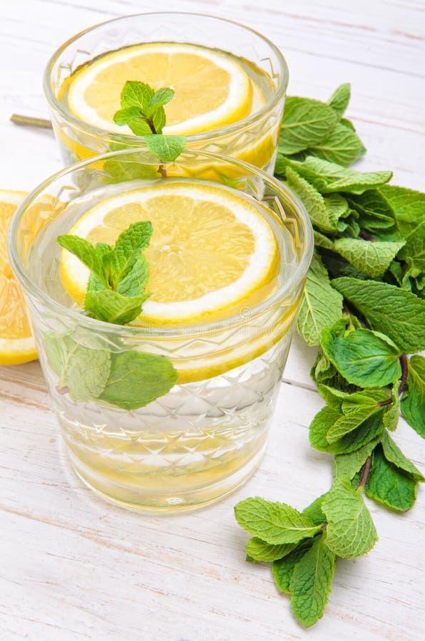 Bebida del limón fotografía de archivo