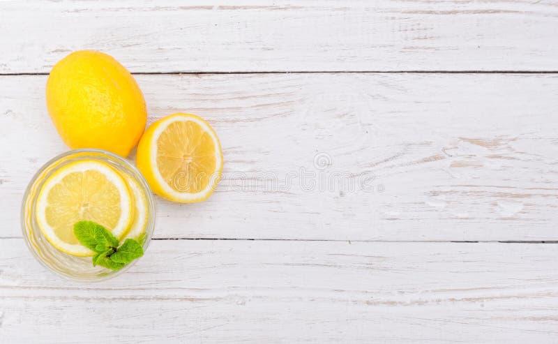 Bebida del limón imágenes de archivo libres de regalías