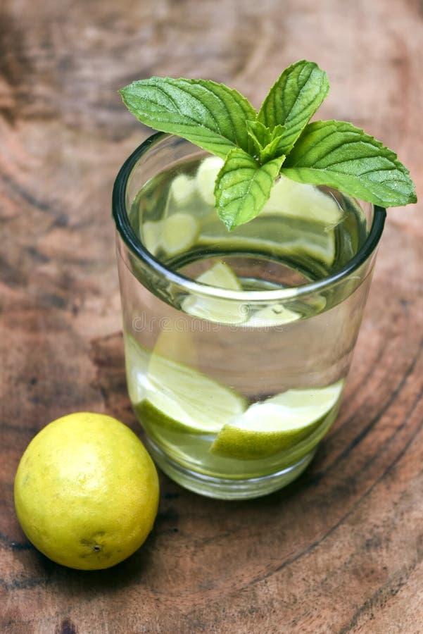 Bebida del limón foto de archivo libre de regalías