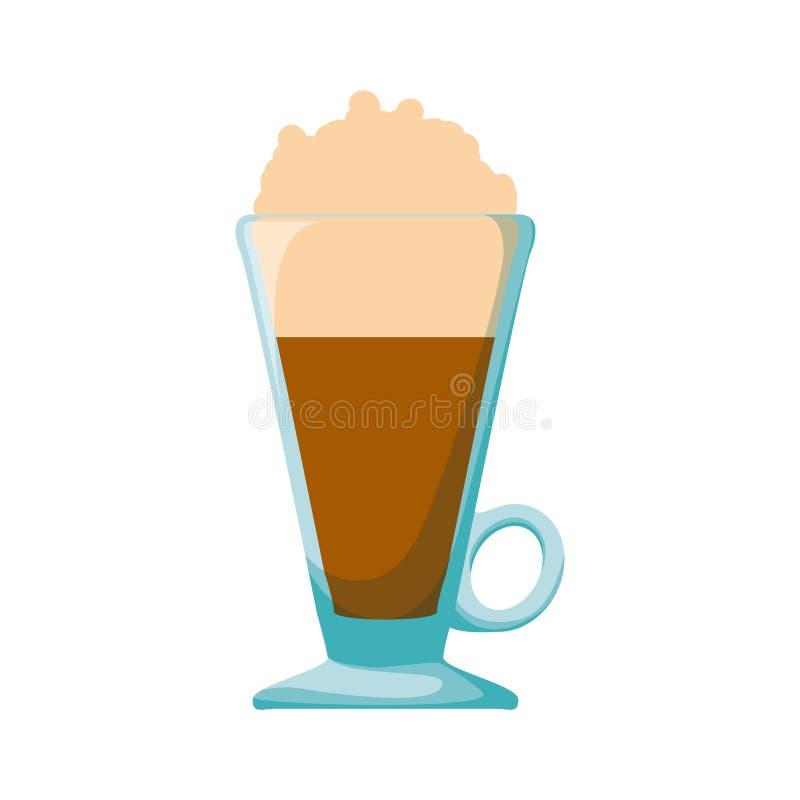 Bebida deliciosa del hielo del café libre illustration