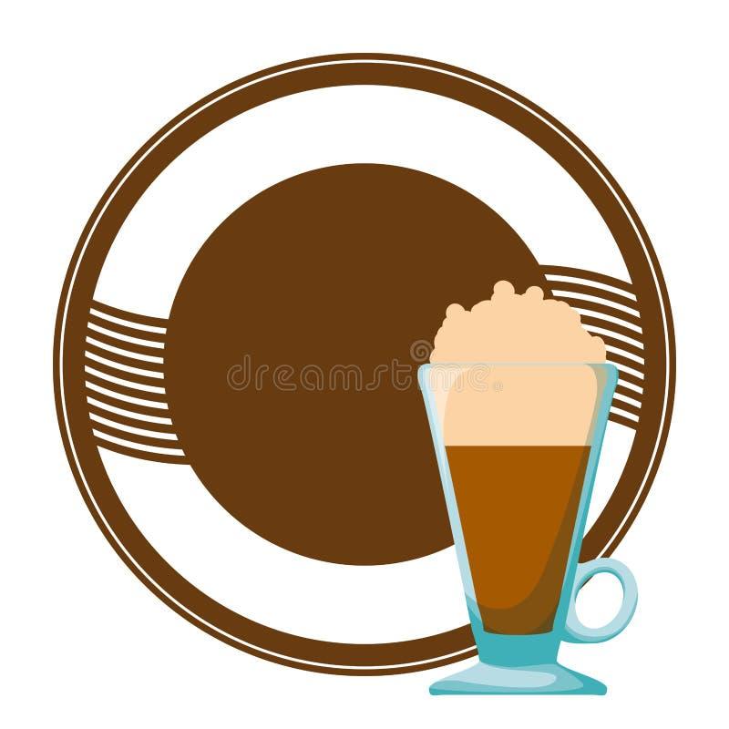 Bebida deliciosa del hielo del caf? libre illustration