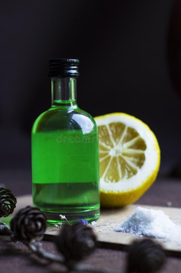Bebida do álcool imagem de stock