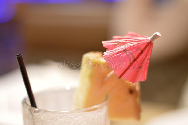 Bebida do colada de Piña fotos de stock royalty free