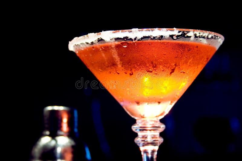 Bebida do incêndio e do gelo foto de stock