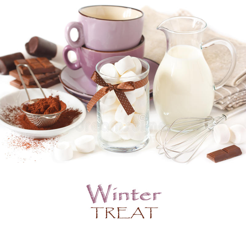 Bebida do inverno. fotos de stock royalty free