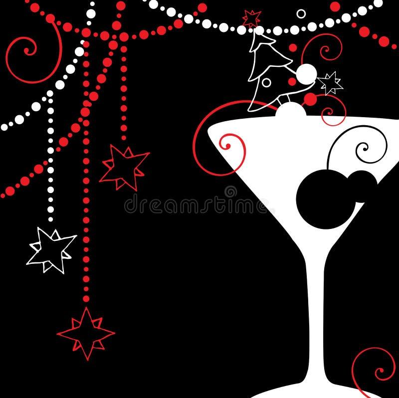 Bebida do Natal ilustração royalty free