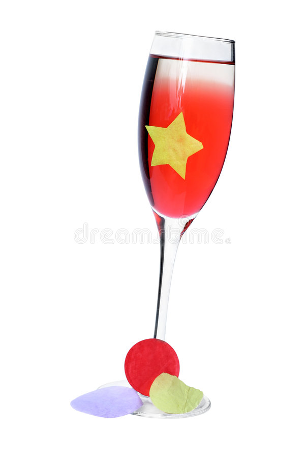 Bebida do partido foto de stock royalty free
