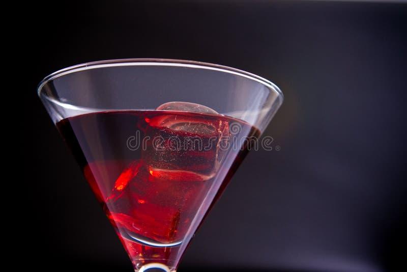 Bebida do partido no gelo imagem de stock royalty free