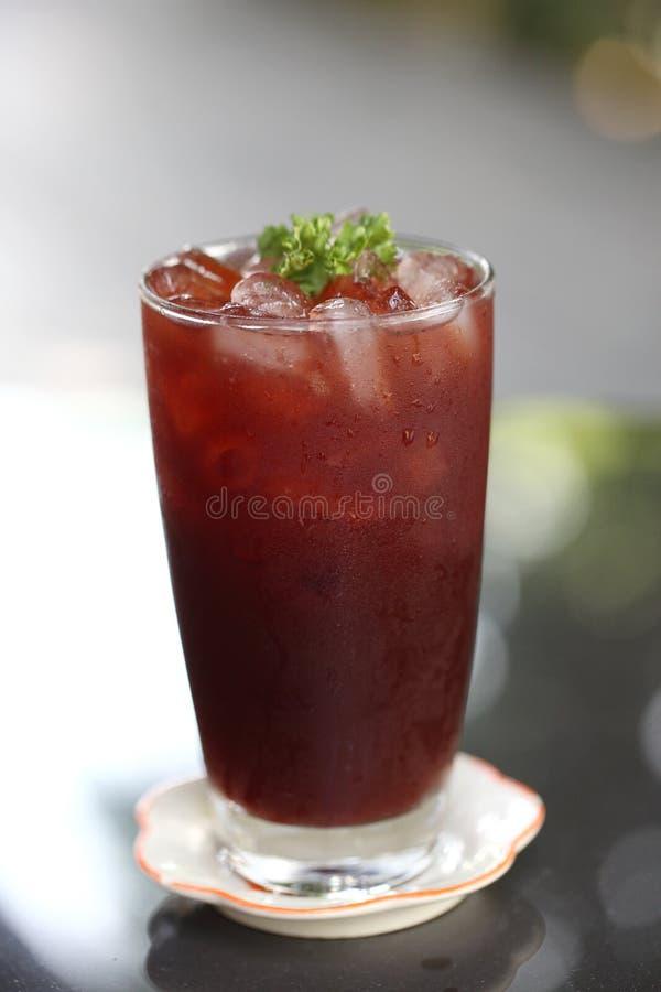 Bebida do suco da baga fotografia de stock