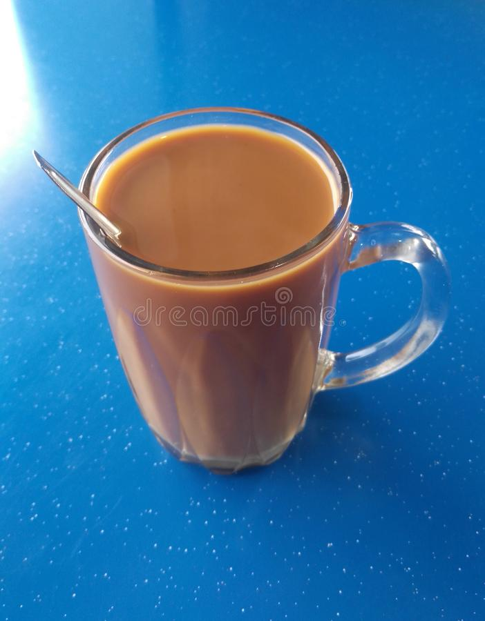 Bebida malaia da assinatura chamada 'O TARIK ' imagens de stock royalty free