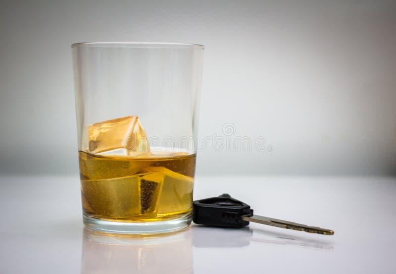 A bebida não conduz imagens de stock