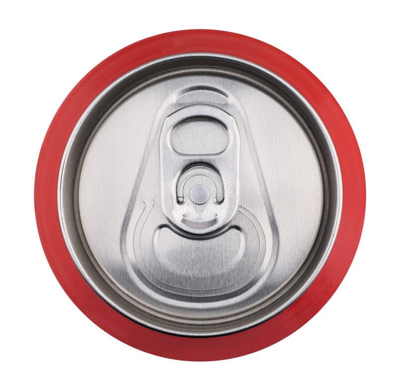 A bebida pode fechar-se acima imagem de stock