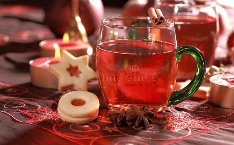 Bebida quente para o Natal foto de stock royalty free