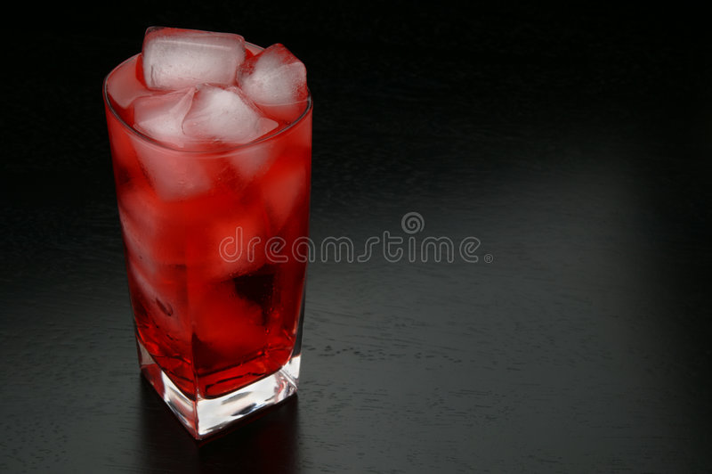 Bebida roja foto de archivo libre de regalías