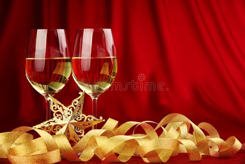 Bebida romântica do feriado fotos de stock