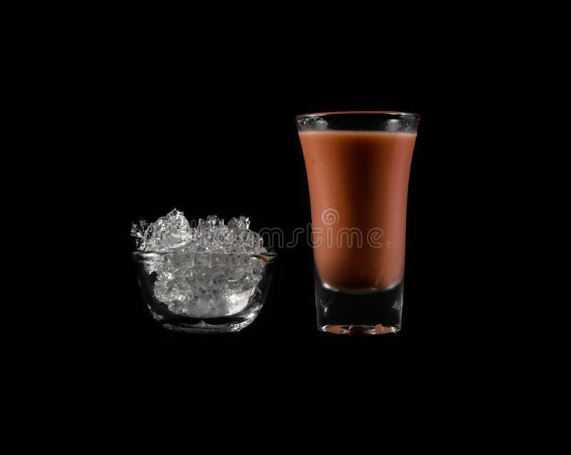Bebida rosada del agua imágenes de archivo libres de regalías