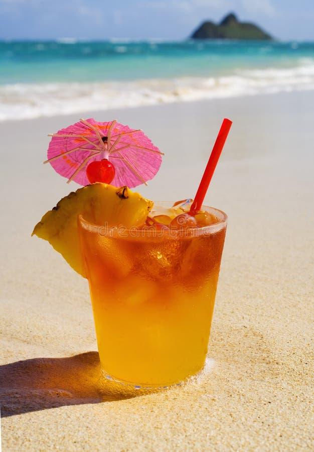 Bebida tropical de Maitai fotografía de archivo libre de regalías