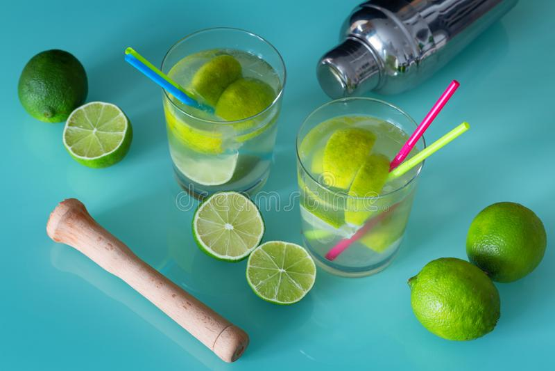 Bebida tropical tradicional imagens de stock