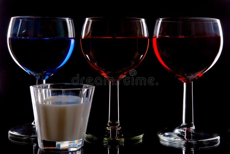 Bebidas foto de archivo libre de regalías