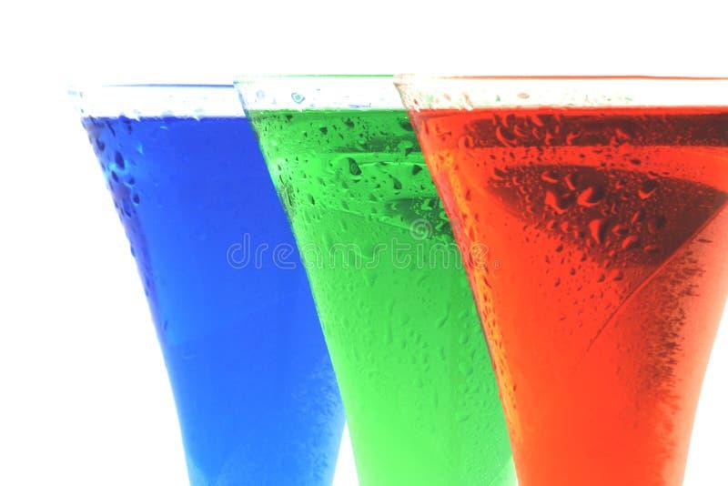 Bebidas agradables imagen de archivo