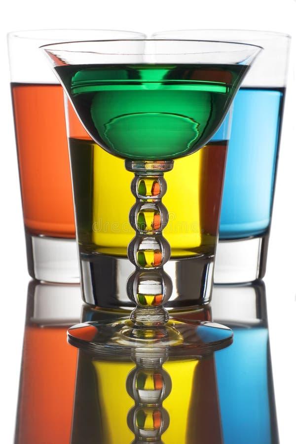 Bebidas alcoólicas imagem de stock