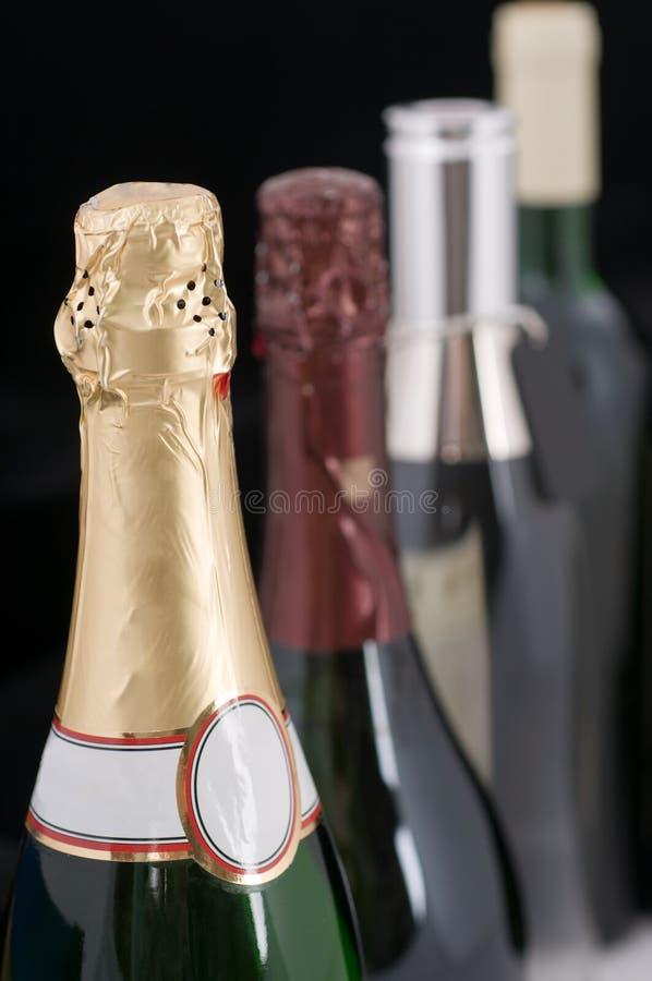 Bebidas alcoólicas. imagens de stock royalty free