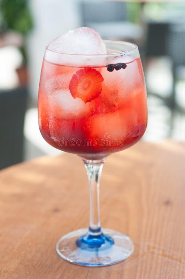 Bebidas alcoólicas com gelo fotos de stock