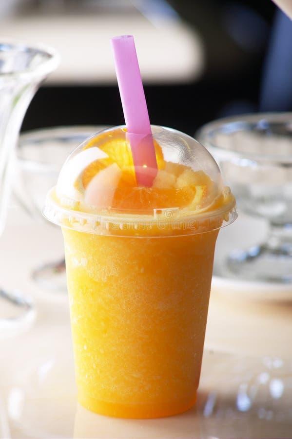 Bebidas anaranjadas fotos de archivo libres de regalías