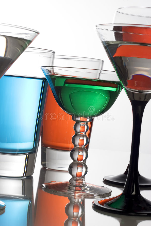 Bebidas coloridas fotos de stock