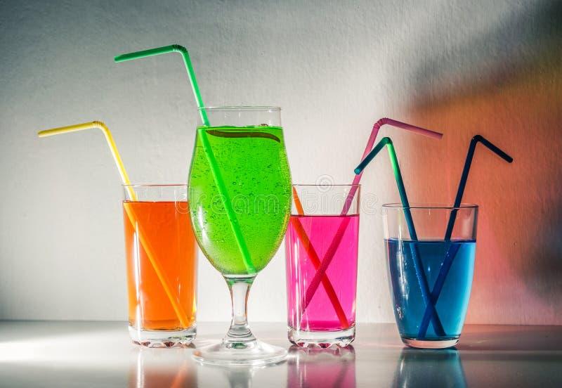 Bebidas coloridas imágenes de archivo libres de regalías