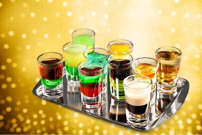 Bebidas de la barra fotos de archivo libres de regalías