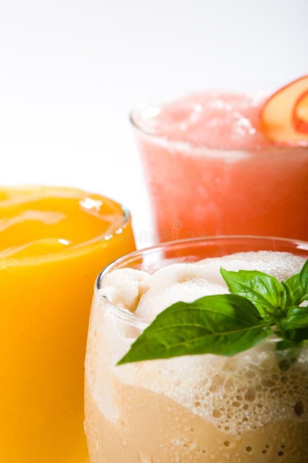 Bebidas del coctel imagen de archivo