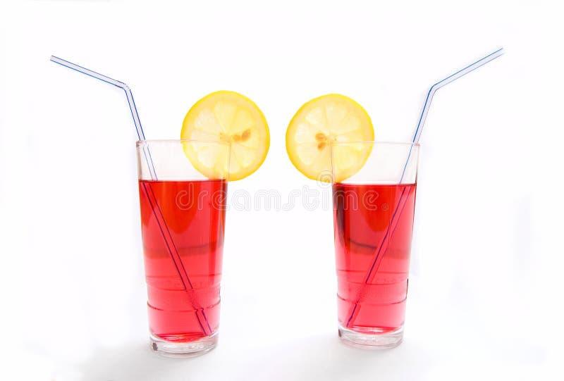 Bebidas del frío. fotografía de archivo