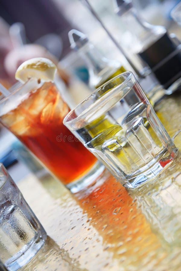 Bebidas del frío foto de archivo libre de regalías