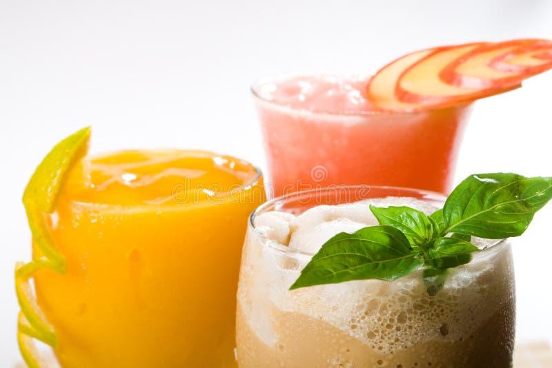 Bebidas del frío foto de archivo