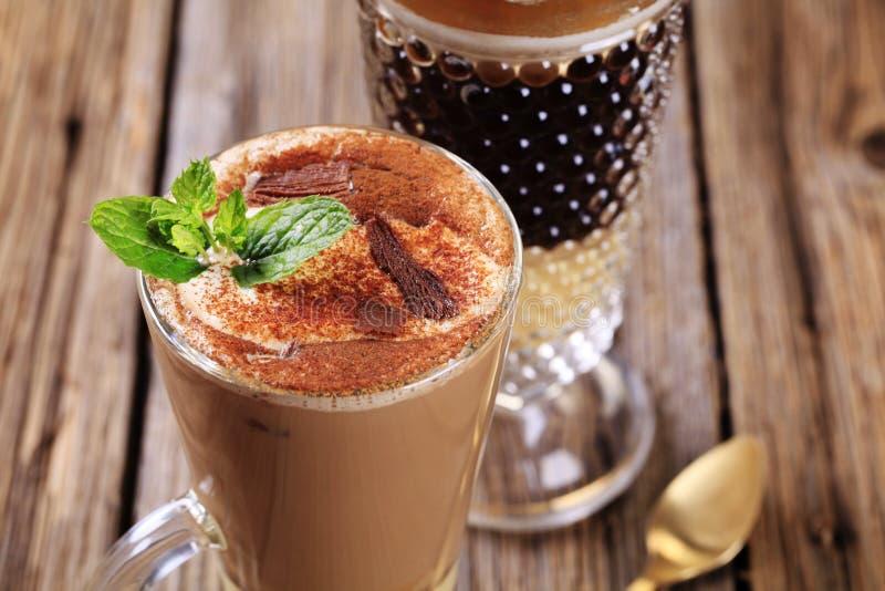 Bebidas do café fotos de stock