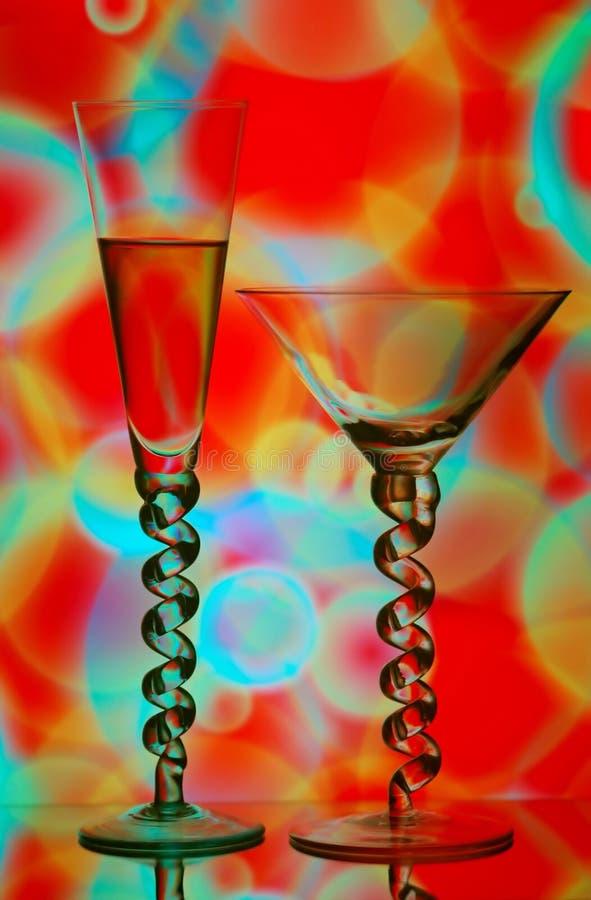 Bebidas do cocktail fotografia de stock