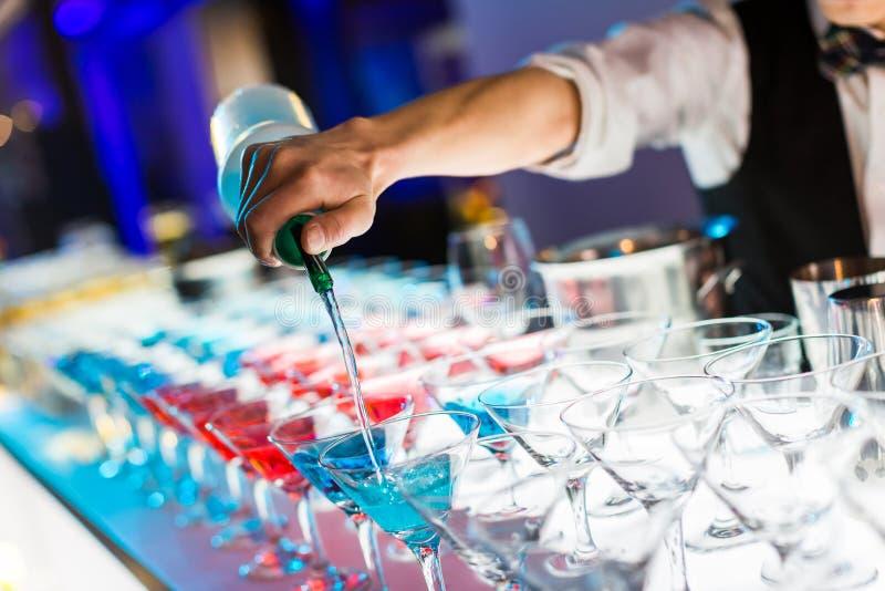 Bebidas do cocktail