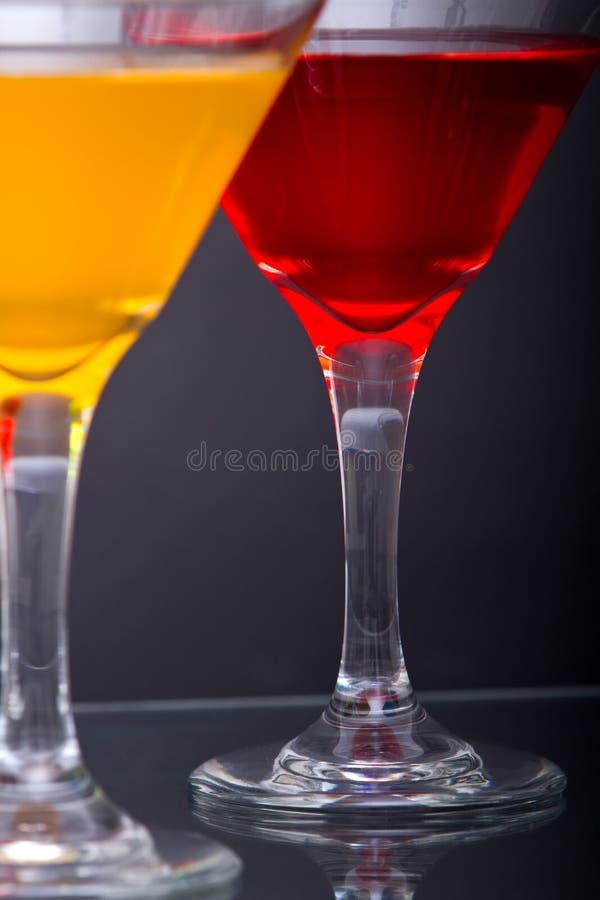 Bebidas do cocktail de Martini imagem de stock