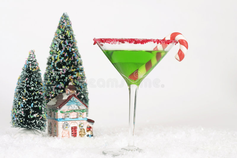Download Bebidas do Natal foto de stock. Imagem de álcool, espírito - 364542