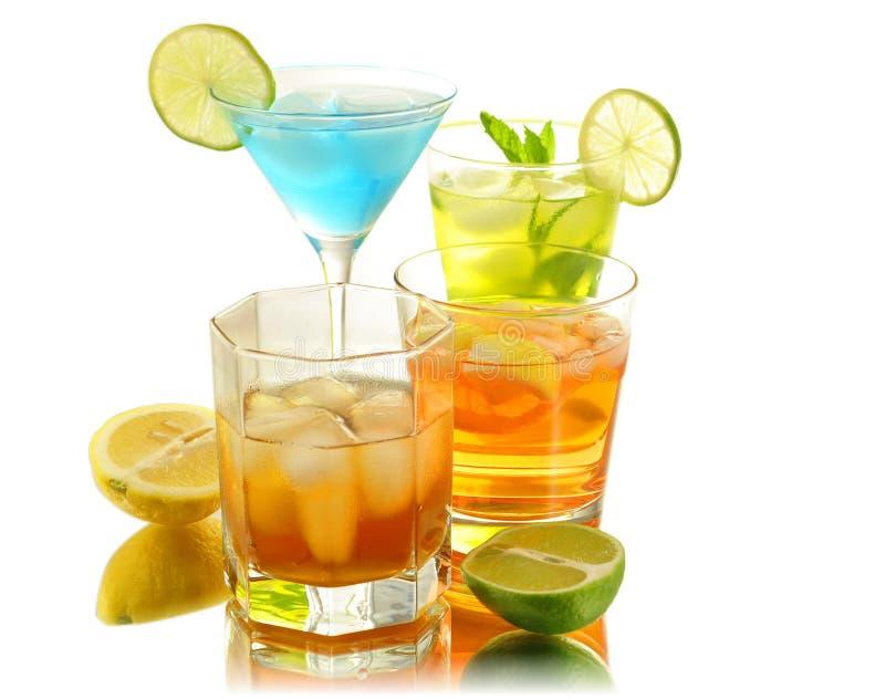 Bebidas do verão foto de stock royalty free