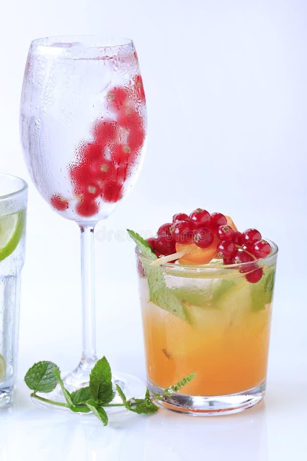 Bebidas do verão fotos de stock